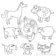 farm animals coloring book 500 animal coloring images images