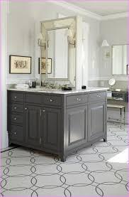 Grey Bathroom Vanity by Bathroom Relieving Colored Wooden Vanity As Wells As Classic