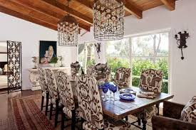 Floral Dining Room Chairs Wonderful Antique Dining Room Ideas For Elegant Supper Time