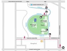 hollyhock house plan visit barnsdall art park