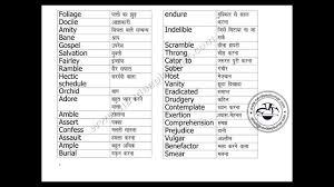 Accomplishments Antonym Ielts English Hindi Vocabulary Words Youtube