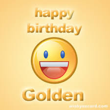 happy birthday golden free e cards