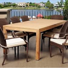Patio Pub Table Eight Person Patio Dining Tables You Ll Wayfair