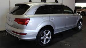 audi wagon sport 2007 audi q7 my07 upgrade 4 2 fsi quattro silver 6 speed tiptronic