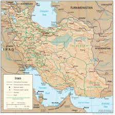 Geography Map Iran Geography جغرافیای ایران