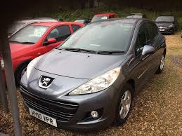 peugeot second hand prices used cars peugeot 207 trowbridge