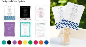 diy wedding programs kits our fully customizable diy wedding fan program kits