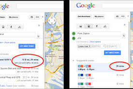 Map Directions Google Google Adds Real Time Traffic Estimates To Maps Directions The Verge