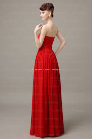 red prom dress long bridesmaid dress simple prom dress cheap