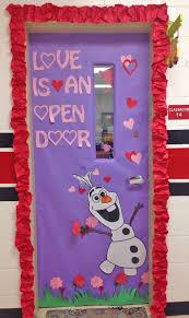 s decorations classroom door decoration decorations valentines day olaf frozen 2