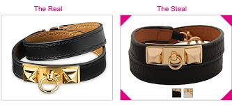 double strap bracelet images Steal the real hermes leather double wrap bracelet the looks jpg
