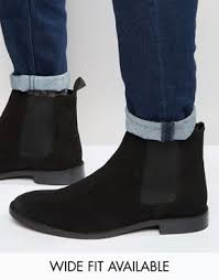 wide fitting s boots australia s chelsea boots black suede chelsea boots asos