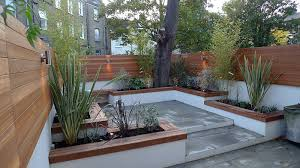 outdoor courtyard modern london courtyard low maintenance urban outdoor indoor