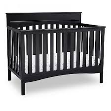 Black 4 In 1 Convertible Crib Delta Children Skylar 4 In 1 Convertible Crib Black Shop Your