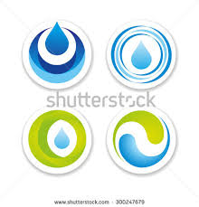 water drop shapes collection vector icon stock vector 153826631