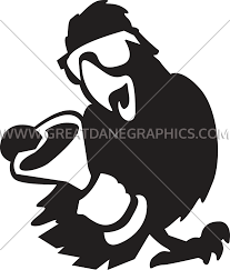 martini silhouette vector martini parrot production ready artwork for t shirt printing