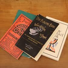 vintage cocktail the flowing bowl and other vintage cocktail books cool hunting