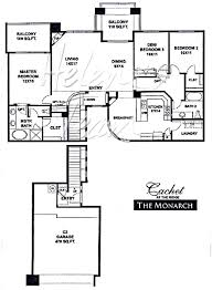 Monarch Homes Floor Plans The Ridge By Cachet Homes Models Mcdowell Mountain Area Maps And