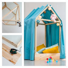 bricolage chambre bébé diy fabriquer une cabane de lit diy tuto tutoriel bricolage