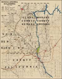 Boulder Colorado Map Las Vegas Route 66 Etc Blackburn U0027s Map Of Southern California