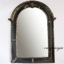 Antique Bathroom Mirror Large Big Decorative Cosmetic Antique Wall Bathroom Mirror With