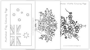 australia day colouring pages colouring pages of the australian