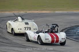 vintage porsche racing 2017 sebring vintage classic group 1 u2013 3 u2013 4 1967 mgb gt