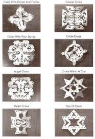 chrismon snowflakes pictures ornaments decorations