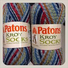 pattern kroy socks patons kroy socks yarn in blue stripe ragg 166 yds 50 gms wool