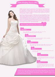 wedding dresses online shopping online wedding dresses shop visual ly