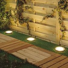 Solar Powered Outdoor Lights by Solar Power Round Recessed Deck Dock Pathway Garden Led Light