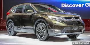 honda cr iims 2017 new honda cr v launched in indonesia seven seat 1 5l