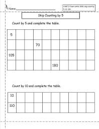 common worksheets skip counting worksheets number line