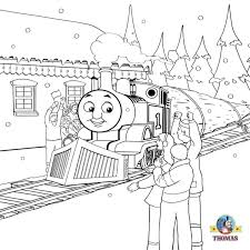 train hat coloring page clipart cartoon basic worksheets happy winter portrait percy and