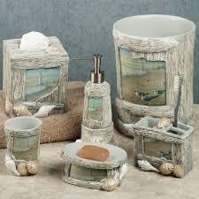 theme bathroom decor enjoyable lighthouse apothecary bath accesories nautical bathroom