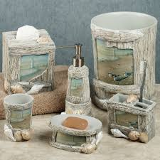 themed accessories enjoyable lighthouse apothecary bath accesories nautical bathroom