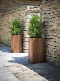 Diy Patio Planter Box Horsetail Reed Recycled Wood Reuse Planters And Decking