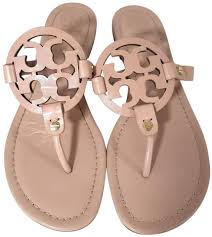 tory burch makeup leather miller sandals size us 9 regular m b