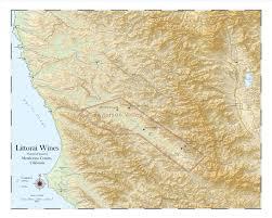 Sonoma Winery Map Custom Maps Everyvine