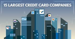credit card companies 15 largest issuers 2017 list cardrates