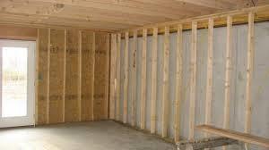 chic design frame basement walls vapor barrier cost video