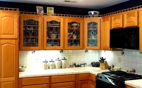 Glass Kitchen Cabinet Doors For Sale Fascinating Beveled Glass Kitchen Cabinet Door Ideas T Doors Glass