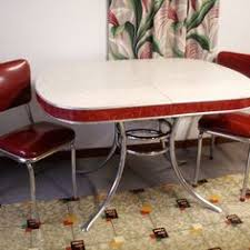 1950s chrome kitchen table and chairs 1950s vintage table and chairs 1950 s chrome and formica kitchen