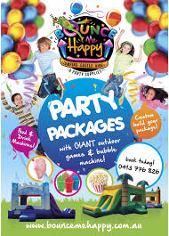 bounce me happy jumping castles toowoomba party hire