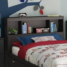 Bookcase Headboard Beds South Shore Spark Full 54