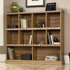 sauder 4 shelf bookcase sauder barrister lane bookcase scribed oak finish desks