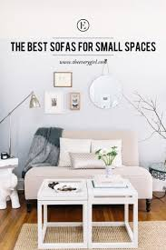 best couch the best sofas for small spaces the everygirl