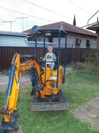 chookie u0027s back yard a couple of days with an excavator