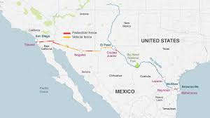 Juarez Mexico Map by 6 Things That Could Topple Donald Trump U0027s Border Wall Bbc News