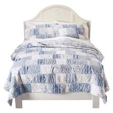 bohemian patchwork quilt simply shabby chic target